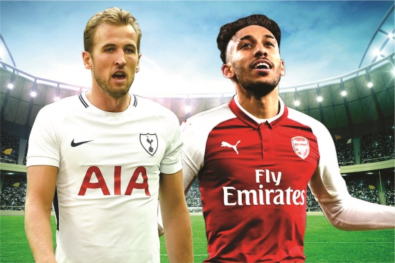 Arch-rivals Tottenham and Arsenal clash at Wembley Stadium on Saturday in the North London Derby