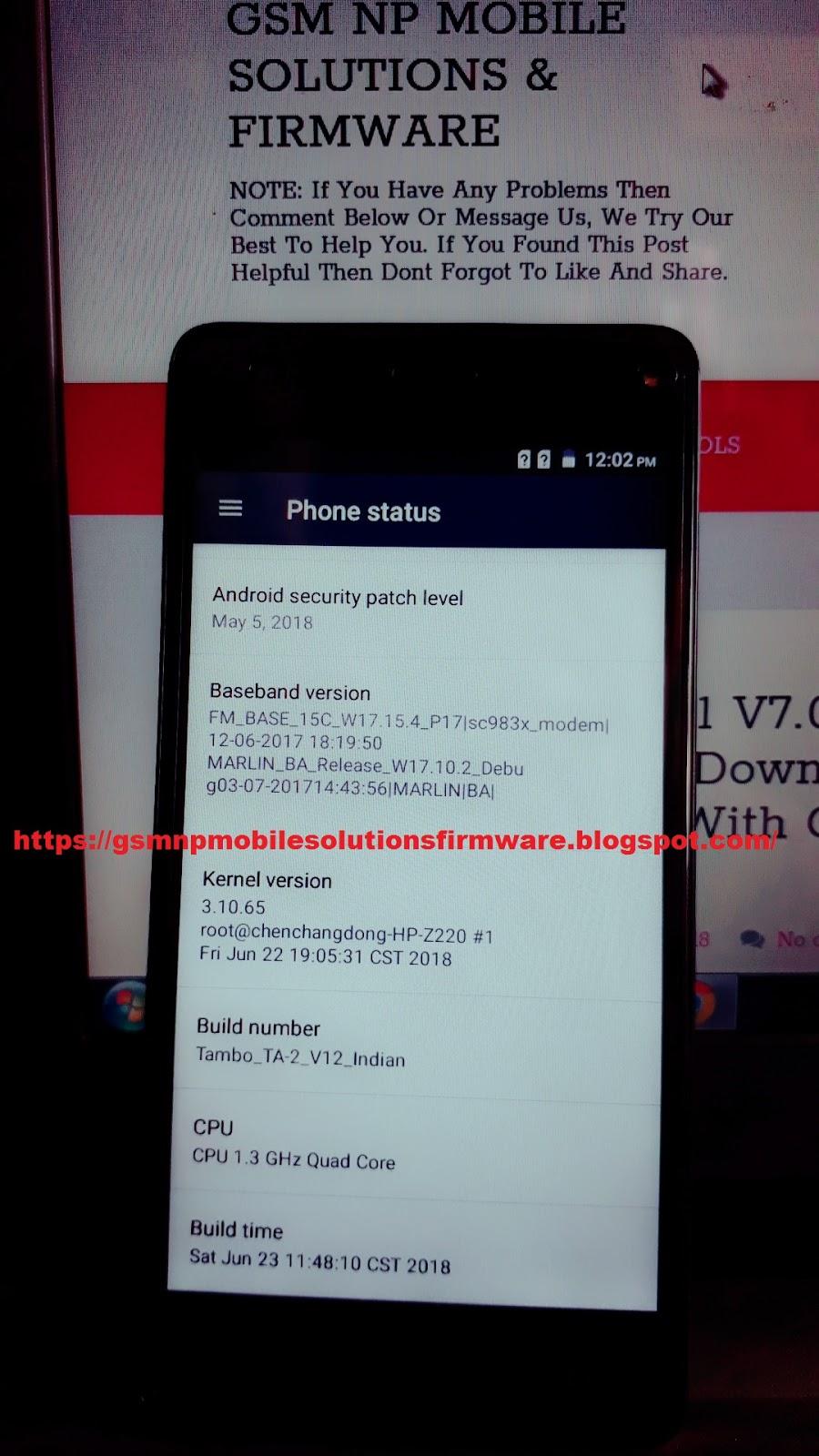 Tambo TA-2 SC983x SPD SW-V09 HW-V3 07 100% Tested Firmware