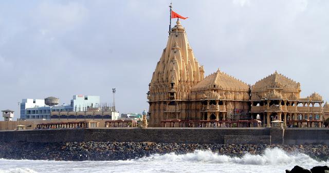 Somnath Temple (SOMANATH) in Saurashtra, Gujarat