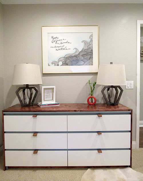 The Happy Homebodies Diy Ikea Malm Makeover Amp Guest Room