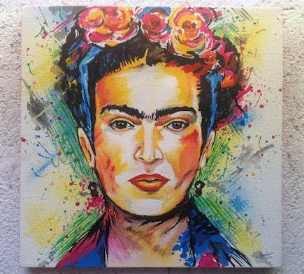 RETRATO FRIDA KAHLO