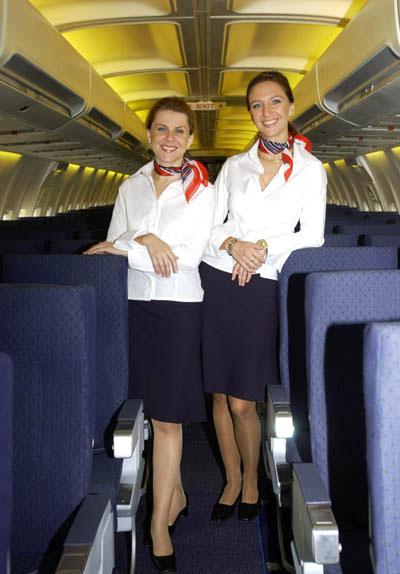 Cabin Crew Photos Sky Europe Flight Attendant Uniforms