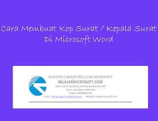 belajar microsoft word 2007