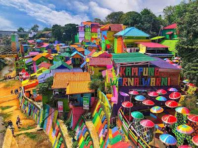 Spot Foto Cantik Kampung Jodipan