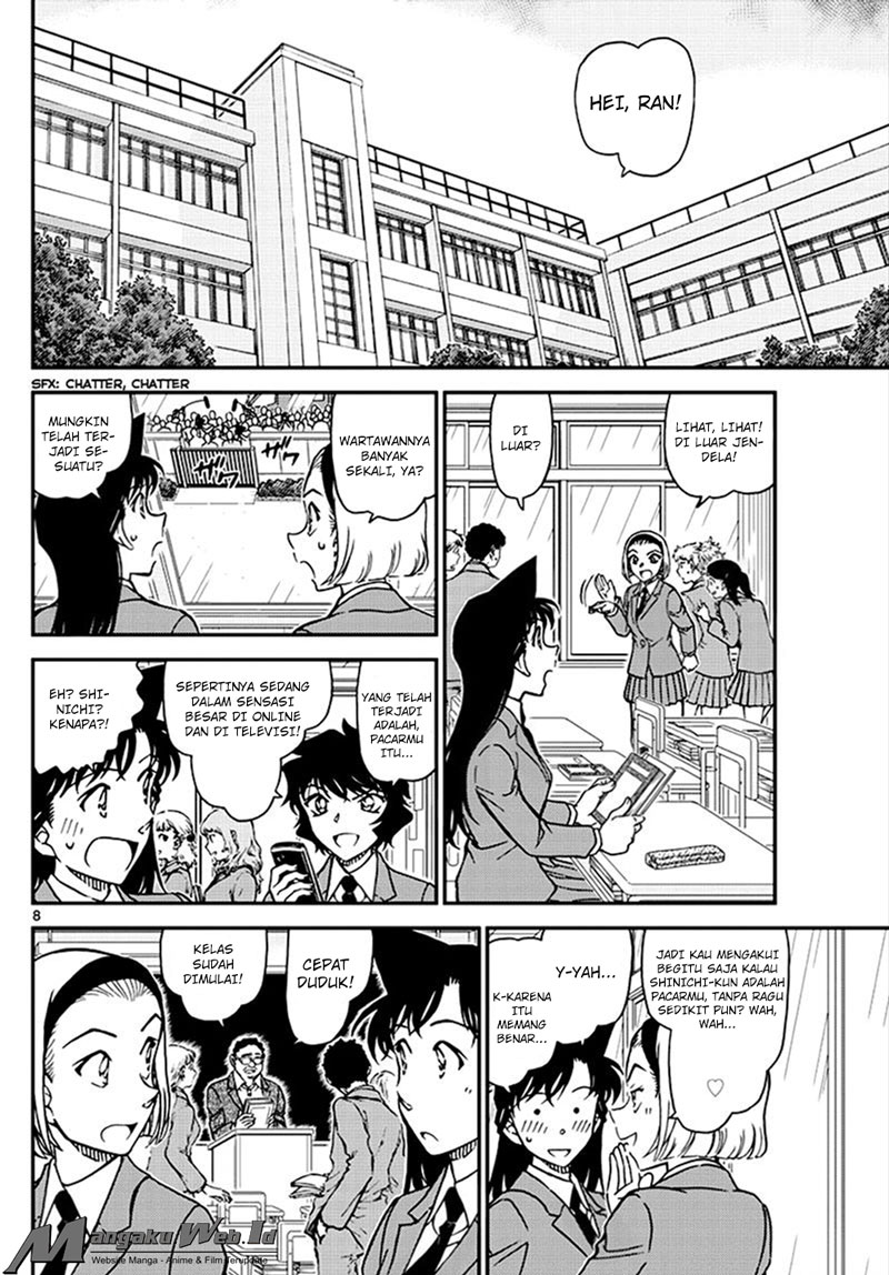 Detective Conan Chapter 1007-9