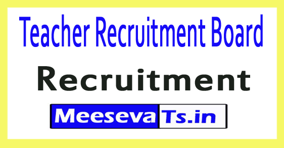 Teacher Recruitment Board Tripura TRB Tripura Recruitment