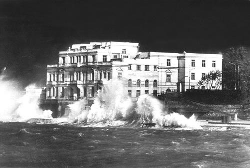 Севастопольская биостанция и аквариум, 1960-е.