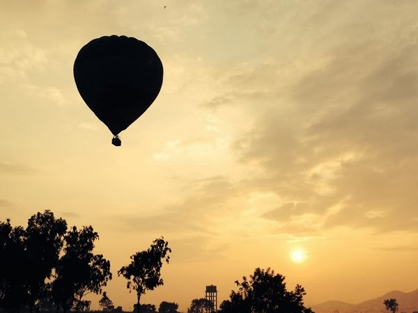 hot air ballon pune