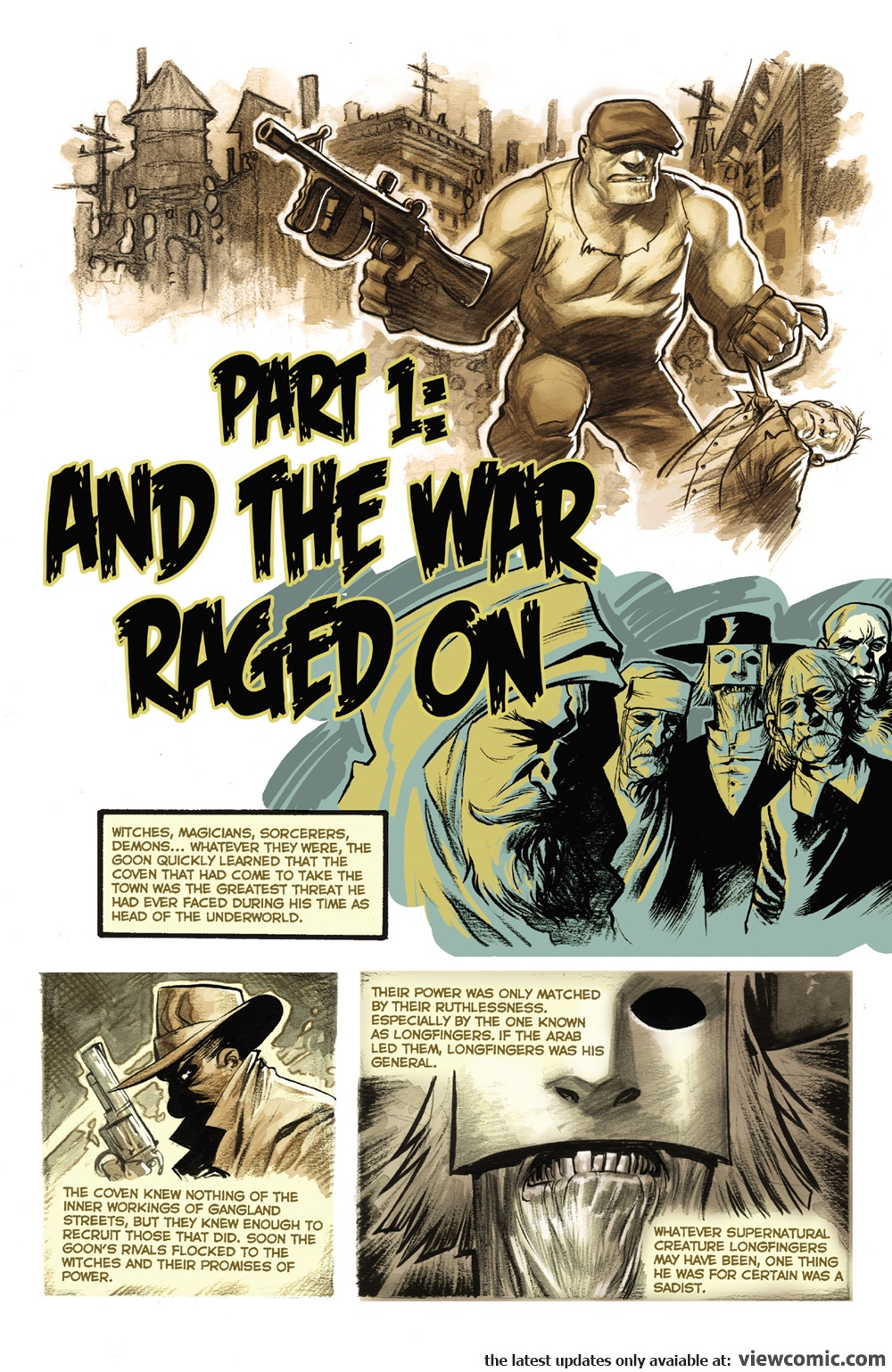 The Goon – Occasion of Revenge 02 (of 04) (2014) | Viewcomic