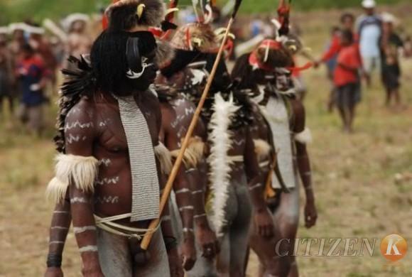 Unique Culture In Papua Koteka And Sali