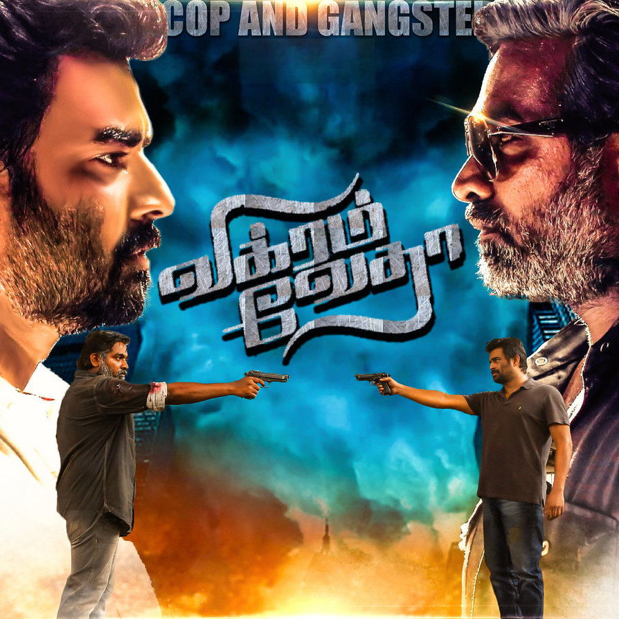 Vikram Vedha (2018) Dual Audio m-HD 720p [Hindi – Telugu] 1.2GB