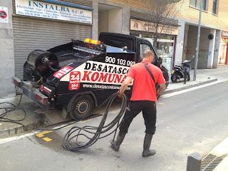 Empresa de limpieza de tuberías y desatascos Cornella de Llobregat