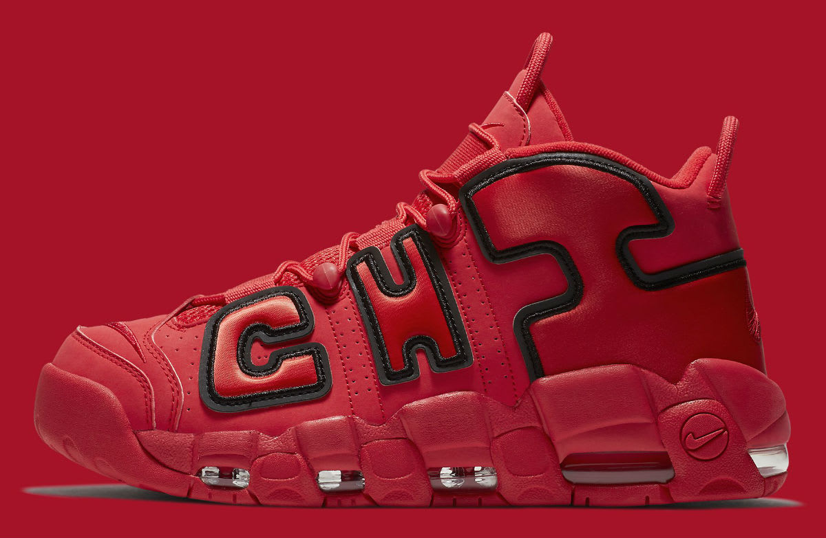 Nike More Air More Nike Uptempo 'Chicago' Qs Analykix ae2a24