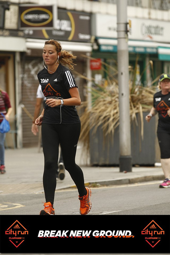 Adidas City Run clapham common 2018