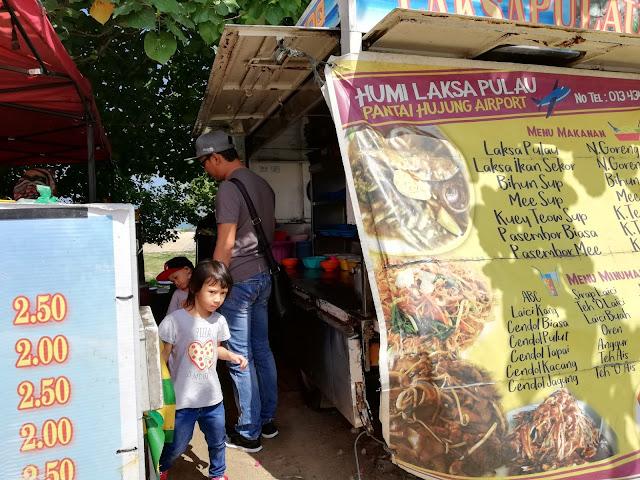 Makan Laksa Ikan Sekoq di Langkawi, Laksa Ikan Seekor, Laksa Ikan Sekoq, Langkawi, makan di Langkawi, makan sedap langkawi, Airport Langkawi, Lapangan Terbang Langkawi, Makan sedap Langkawi,
