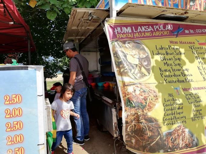 Makan Ikan Laksa Sekoq di Langkawi