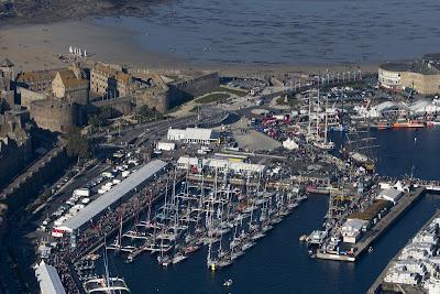 Les bateaux de la Route du Rhum bientôt à Saint-Malo