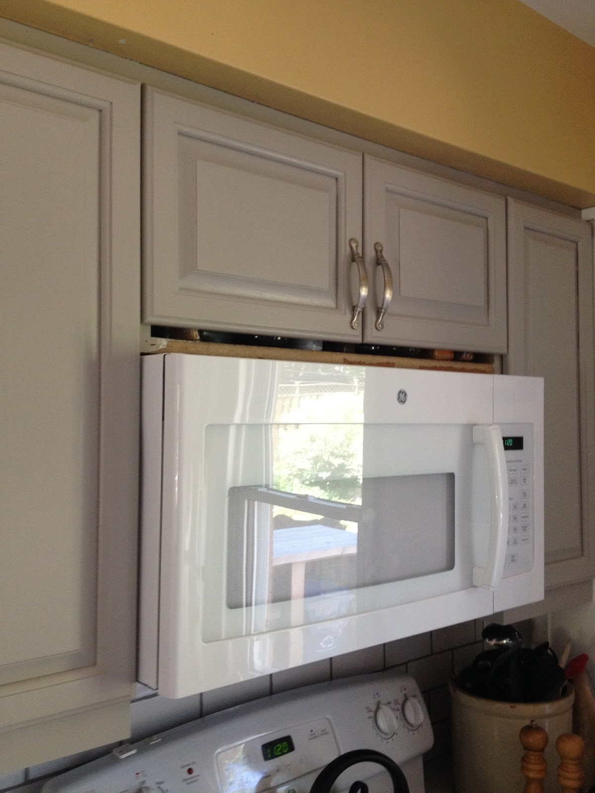 Cabinet For Over The Range Microwave