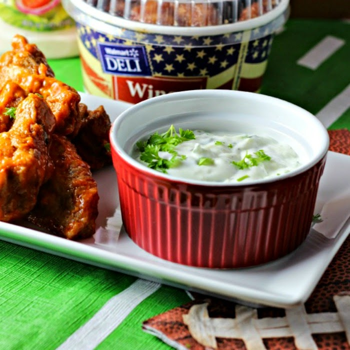 Cool Cucumber Ranch Dip
