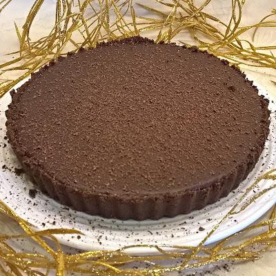 Gluten Free Salted Chocolate Tart