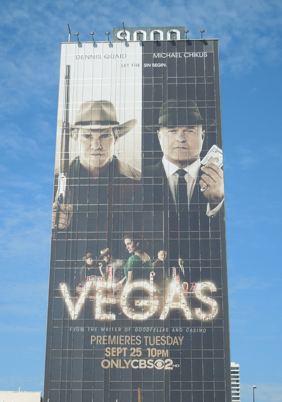 Giant Vegas billboard Sunset Strip