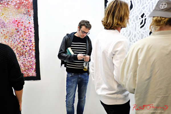 At China Heights gallery. Photo by Kent Johnson for Street Fashion Sydney.