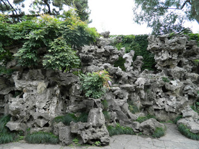 Rockery at Lingering Garden Suzhou China by garden muses-not another Toronto gardening blog