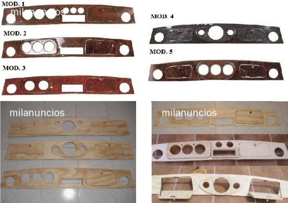 El garaje del mini clasico salpicaderos de madera para - Mini clasico para restaurar ...
