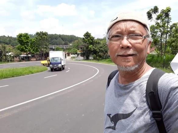 Bukan dari Ciamis, Sosok Ini Long March dari Bandung untuk Reuni 212