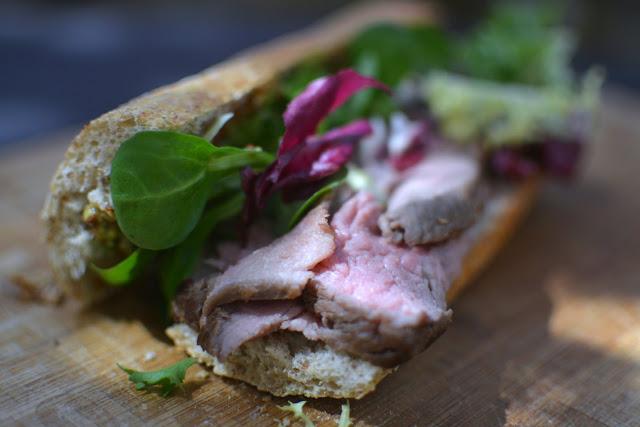 Receta fácil de bocata de Roast Beef 01