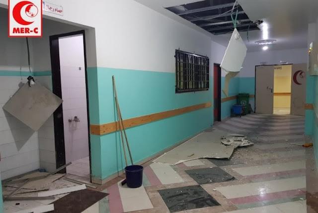 Saksi Mata Ceritakan Bagaimana Rudal Hancurkan RS Indonesia