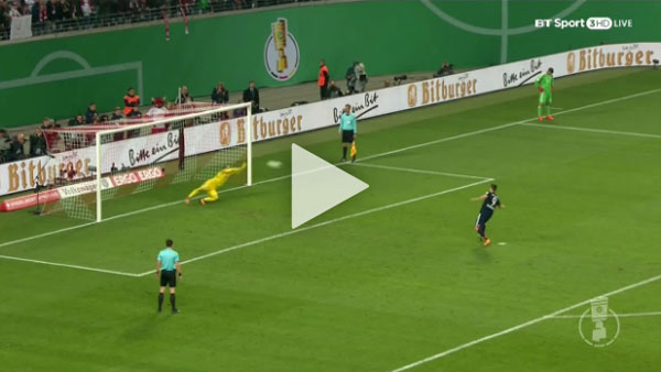 Video RB Leipzig 1 - 1 Bayern Munich Cúp Đức