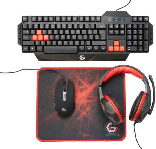 Πακέτο με gaming πληκτρολόγιο, ποντίκι, mousepad και Headset, σε τιμή έκπληξη
