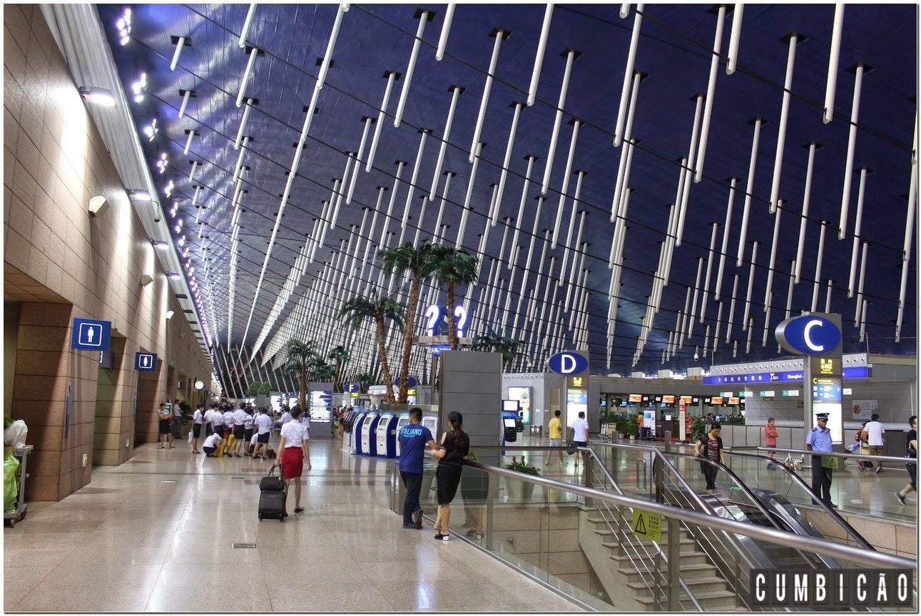 Aeroporto Xangai : Cumbicão dicas da china o que fazer em um dia xangai