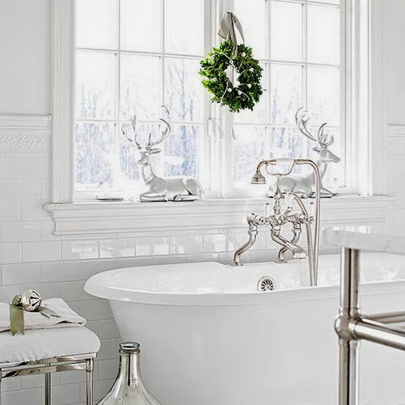 Bathroom Decorating Ideas For Christmas