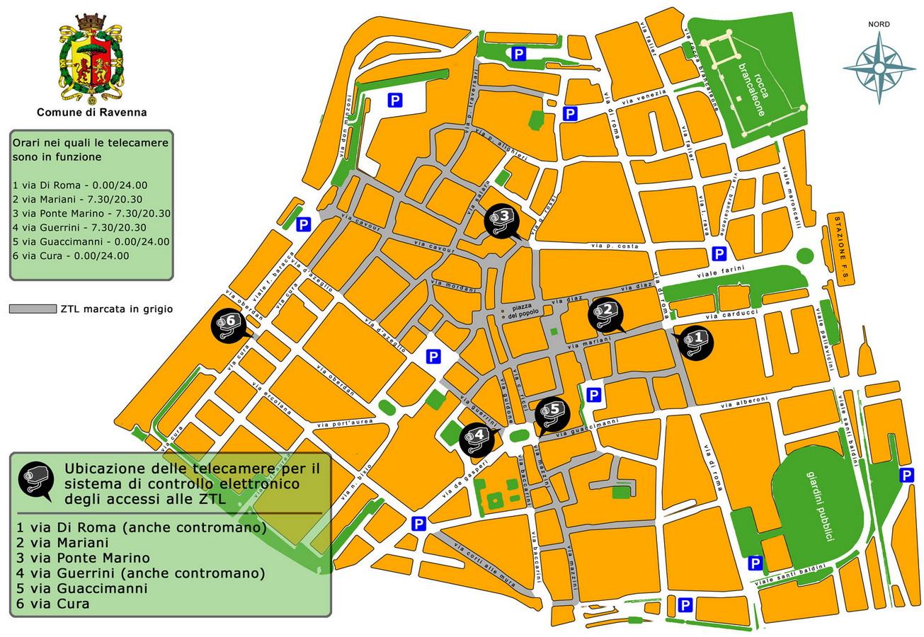 Ravenna Best Parking outside ZTL Fodors Travel Talk Forums