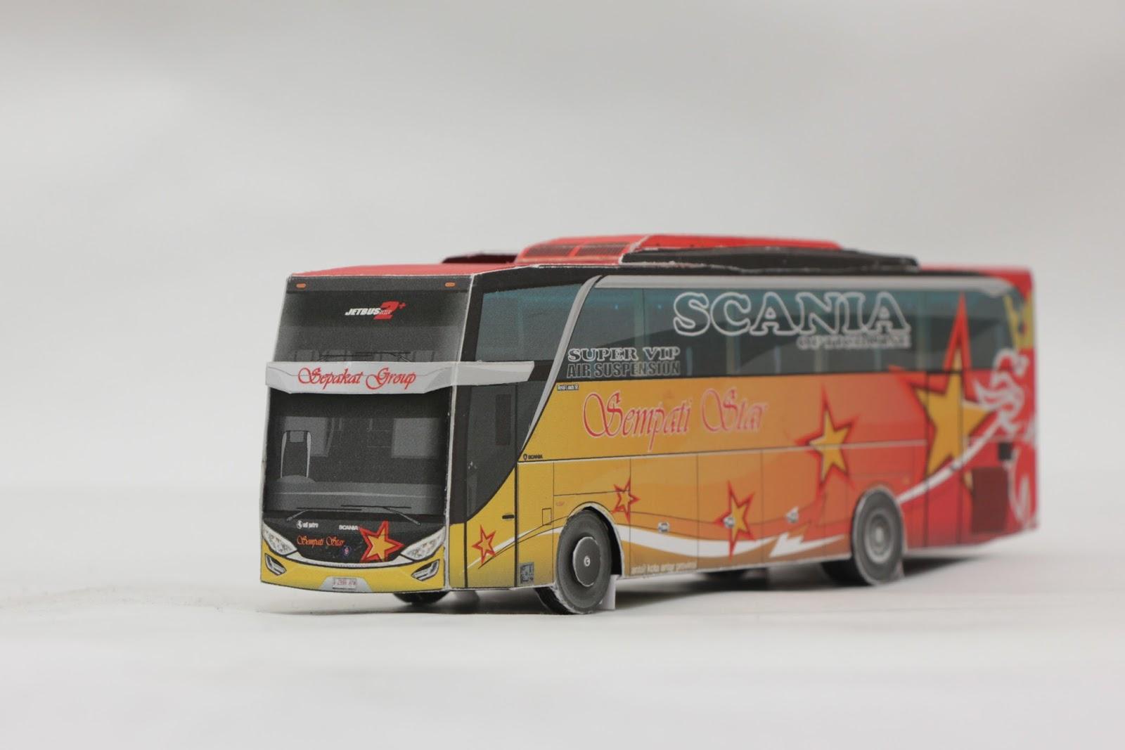 Download Sketsa Gambar Bus Double Axel Sketsa Gambar