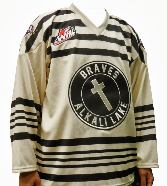 Hockey Blog In Canada  Giants Honour Braves cc77308d0
