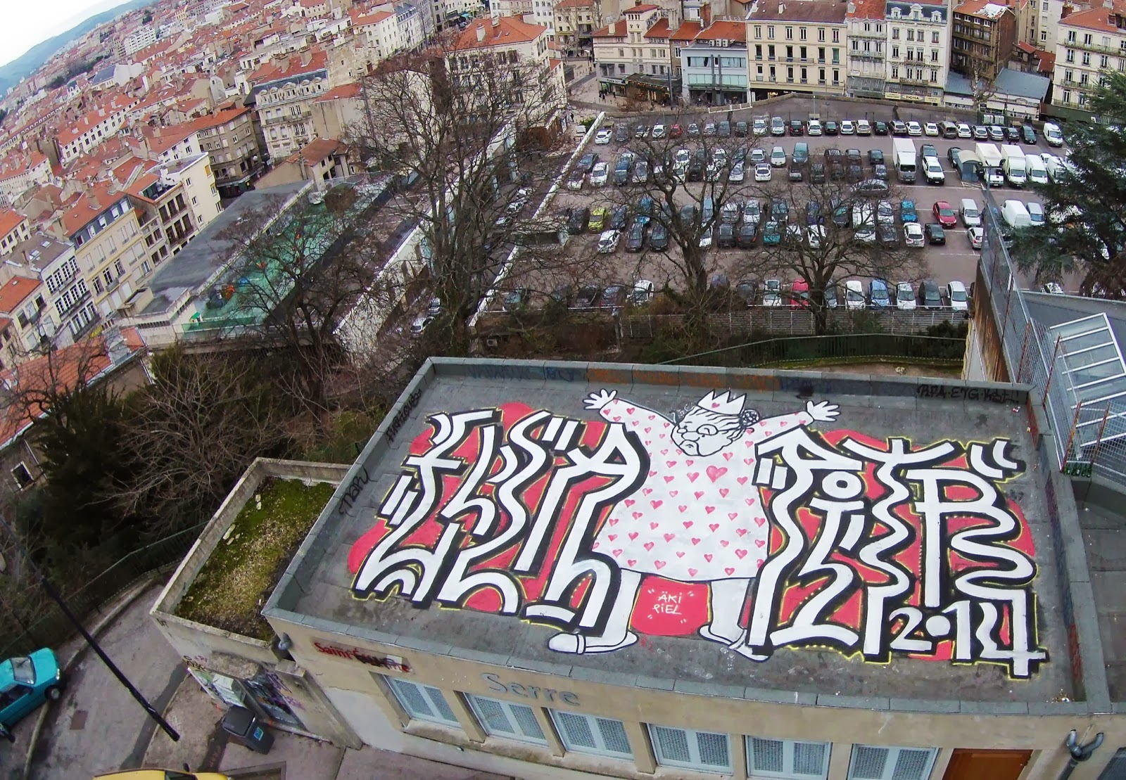 Ella & Pitr New Rooftop Piece - Saint-Etienne, France 1