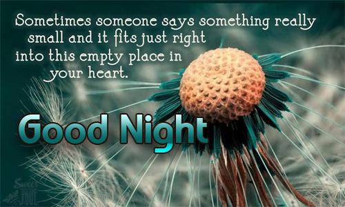Good night Facebook Quotes