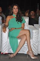 Actress Isha Koppikar Pos in Green Dress at Keshava Telugu Movie Audio Launch .COM 0020.jpg