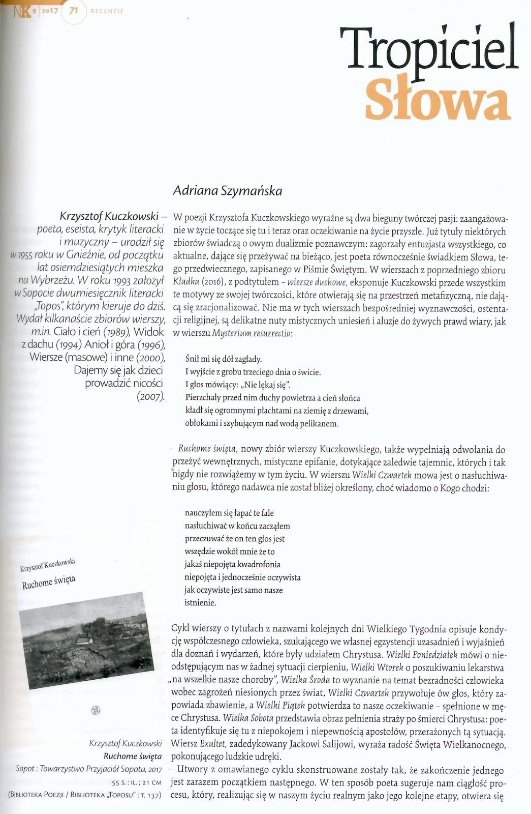 Topoi Nowe Książki A Szymańska O Ruchomych świętach K