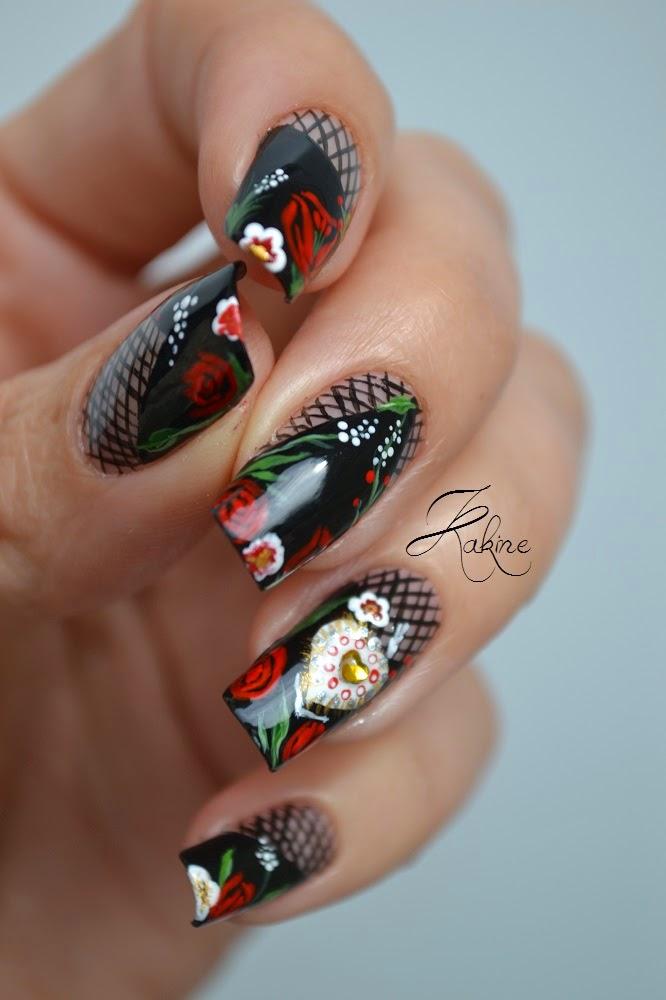 Kakine Nail Art: Concours Fashion Nail Art Pour Didoline