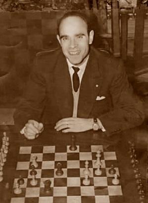 El ajedrecista lisboeta Antonio Augusto Rocha