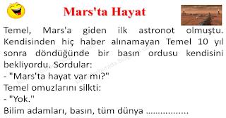 Marsta Hayat - Temel Fıkraları - Komikler Burada