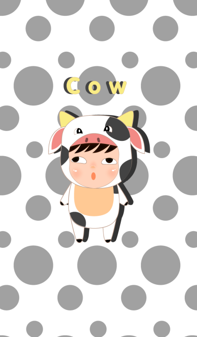 Cute cow theme