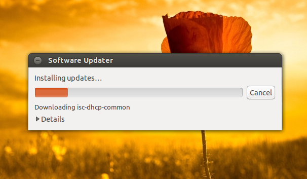 software updater ubuntu 12.10