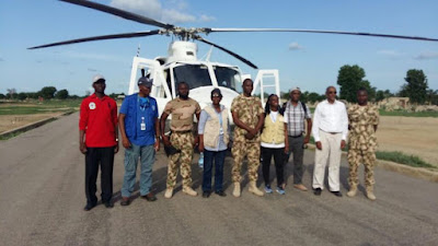 Borno Residents Receive Food Items And Medical Care From Emergency Officials. Photos