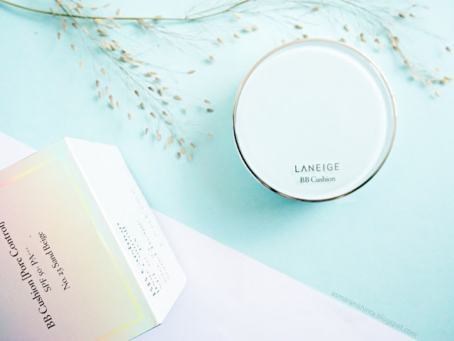 review laneige bb cuhion pore control
