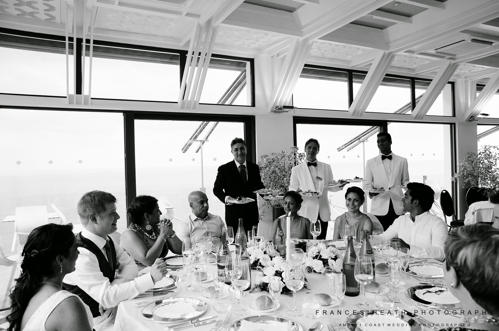 Wedding reception in Amalfi